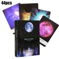 Tarot Cards Moonology Energy Oracle Cards: A 44-Card Deck English Practical Kit
