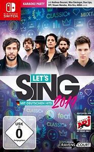 Switch - Let's Sing 2019 mit Deutschen Hits - (NEU & OVP)
