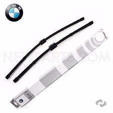 For BMW E70 E71 X5 X6 Front Windshield Window Wiper Blades Genuine 61610034739