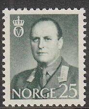 Stamp Norway Sc 0408 1962 King Olav V Folkekongen King of the People Norge MNH