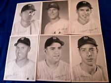 1950 ERA NEW YORK YANKEES INDIVIDUAL PHOTO'S DISTRIBUTED BY THE YANKEES