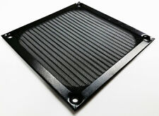 80mm PC Cooling Fan Filter Black Anodized Aluminum
