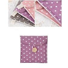 Purple Sanitary Towel Napkin Tampons Personal Holder Easy Bag Girl Organizer MT