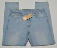 Levis 502 Regular Taper Fit Men's Stretch Jeans NEW Blue Stone