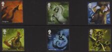 GB 2009 Mythical Creatures SG 2944-49 MNH
