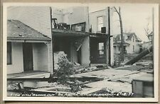 1939 ANOKA, MN PHOTO POSTCARD RPPC  Tornado Damage - Side Wall Blown Out