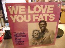 Teresa Brewer Earl Hines We Love You LP Sealed 1983 SS