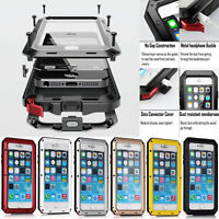 Heavy Duty Aluminum Metal Waterproof Case Cover For iPhone 8 8 Plus 7 6s 6s Plus
