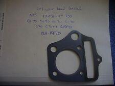 Honda NOS Cylinder Head Gasket 1969-70 CT70-SL70-XL-70-CL70  OEM  #5422