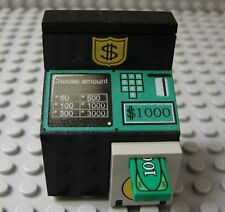 LEGO Minifig Delux ATM Bank Money Machine Cash Box Safe Decorated Slope Brick