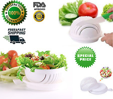 Salad Cutter Bowl Perfect Lightweight Chopper Fruit Vegetable Slicer 60 Second