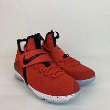Lebron XIV 14 859468 Flip The Switch Red Black  Sneakers Size 6.5 Y / Womens 8