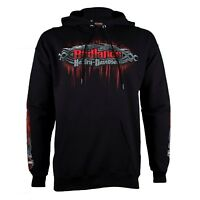 Badlands Harley-Davidson® Men's Edge Black Pullover Hoodie Sweatshirt