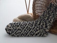 """dicke Socken, Modell """"Testbild"""", Wolle, Gr. 42/43"""