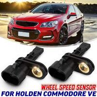 Pair Rear ABS Wheel Speed Sensor For Holden Commodore VE 06-13 V6 V8 SS SV6 SSV