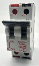 MEM MS1001N 100Amp 240v 50Hz Main Switch Isolator Disconnector Delta Double Pole