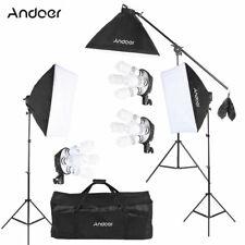 Kit set da studio fotografico Luci con lampada soft box Andoer D3951EU