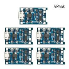 5x 18650 Lithium Battery Charging + Protection Circuit Board Charger Module Z5J0