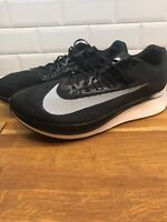Brand New Mens Size 15 Nike Zoom Fly 880848-001 Black/White Running Shoes