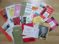 Large Selection of Theatre Programmes from 1960's, Sean Connery,Michael Caine