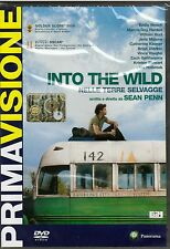 Dvd **INTO THE WILD ♦ NELLE TERRE SELVAGGE** di Sean Penn nuovo 2008