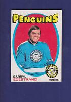 Darryl Edestrand RC 1971-72 O-PEE-CHEE OPC Hockey #187 (VG) Pittsburgh Penguins