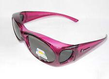 Figuretta solar-sobre gafas UV 400 polarizado lila de TV publicidad