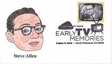 P M WAGNER HD/HP PMW CACHET FDC FIRST DAY COVER 2009 TV STEVE ALLEN SHOW -AL