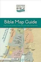 Common English Bible: Bible Map Guide: Explore the Lands of the Old and  .. NEW