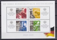 BRD 1999 postfrisch MiNr. Block 49   50 Jahre Bundesrepublik Deutschland