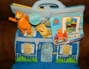 Applause Disney Bear in the Big Blue House Playhouse gift set W/ Tag RARE