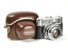 Rangefinder Voigtlander Vitomatic IIIb Lens Ultron 2/50mm Camera No.6773939 READ