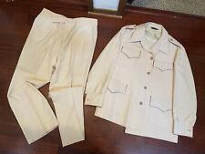 Vtg 2 Pc Suit Jacket Pants Hollywood Swag 1960s 1970s Flint Disco Soundings Rda