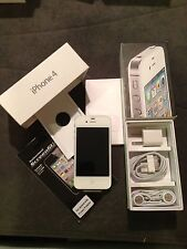Apple iPhone 4 - 8GB - White (Verizon) Smartphone Clean Esn +FREE GIFT Page Plus