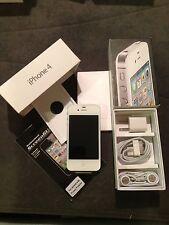 Apple iPhone 4 - 8GB - White (Verizon) Smartphone Clean Esn +FREE GIFT Page Plus