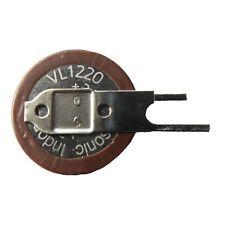 PANASONIC VL-1220/1VC Knopfzellen-Akku 3V Lithium Print mit Lötfahne Vertikal