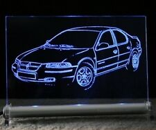 Chrysler Stratus  als  AutoGravur auf LED-Leuchtschild