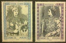 POLAND STAMPS MNH 6Fi3336-37 Sc3191-92 Mi3484-85 - Royalty type, 1994, **