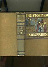 THE STORY OF SIEGFRIED-BALDWIN-ILLUS HOWARD PYLE-RARE 1909-DECORATED-BEAUTIFUL