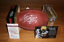 SEAHAWKS Eddie Lacy signed NFL DUKE football JSA COA AUTO Autographed packers