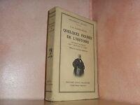 Quelques figures de l'histoire par Sainte Beuve Fouquet Retz Commynes Napoléon