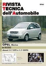 Manuale tecnico per la riparazione e la manutenzione dell'auto - Opel Meriva