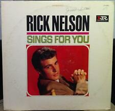 RICK NELSON sings for you LP VG LP-12251 Imperial Mono USA 1964 Ricky