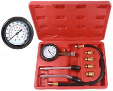 8pcs Petrol Engine Cylinder Compression Tester Kit Automotive Tool