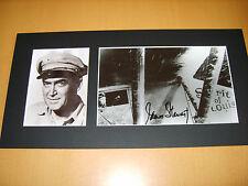 James Stewart Genuine signed authentic autograph UACC / AFTAL