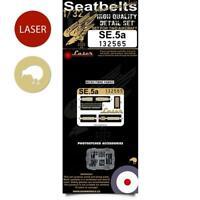 HGW 1/32 SE.5a Hisso Seatbelts for Wingnut Wings - 132565