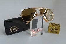 Vintage Original Ray-Ban B&L The General 50 Anniversary U.S.A. Lederetui, neu!