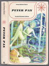PETER PAN di James Matthew Barrie Mondadori 1976