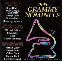 1995 GRAMMY NOMINEES / CD (GRAMMY RECORDINGS/SONY MUSIC COL 478537 2)