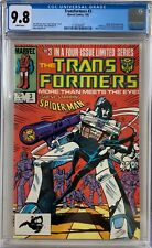 Transformers #3 CGC 9.8 1st Spider-Man x-over into Transformers issue!L@@K!
